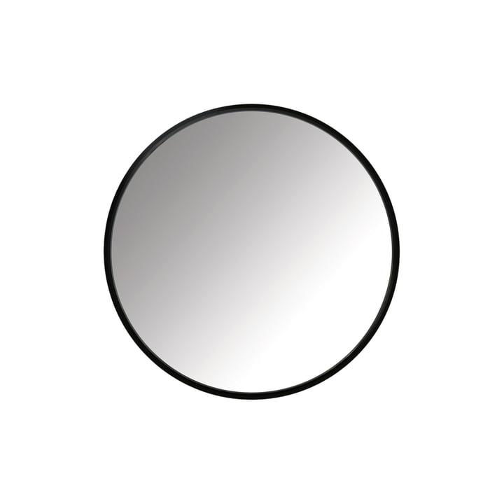 Miroir Hub Ø 61 cm d'Umbra en noir