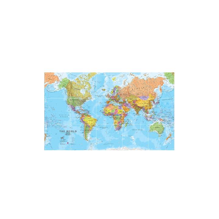 Le Monde (politique), 100x60cm d'IXXI