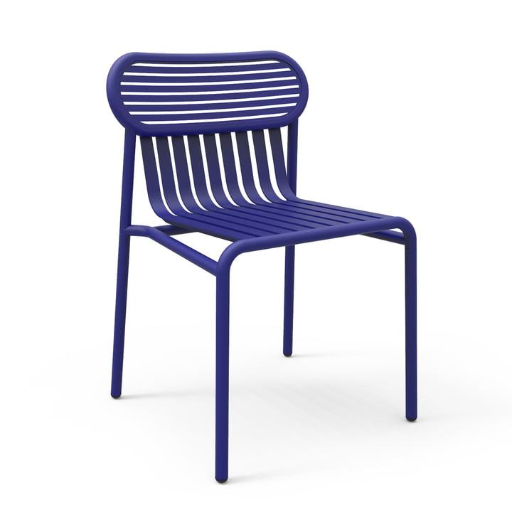 Petite Friture - Chaise Week-End, bleu (RAL 5002)