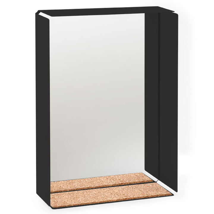 Konstantin Slawinski - Mirror-Box miroir, cadre noir/liège