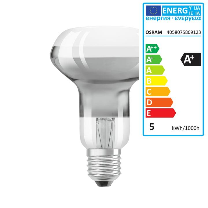 Osram - Ampoule à réflecteur Superstar R63 33 (65°) LED, E27 /