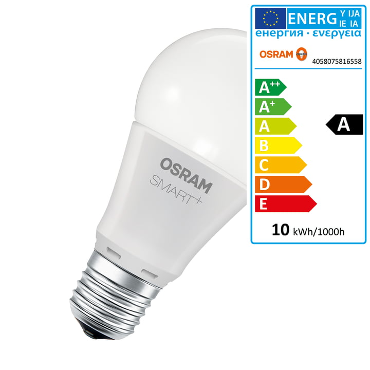 Osram - SMART+ Classic A 60 RGBW (E27)