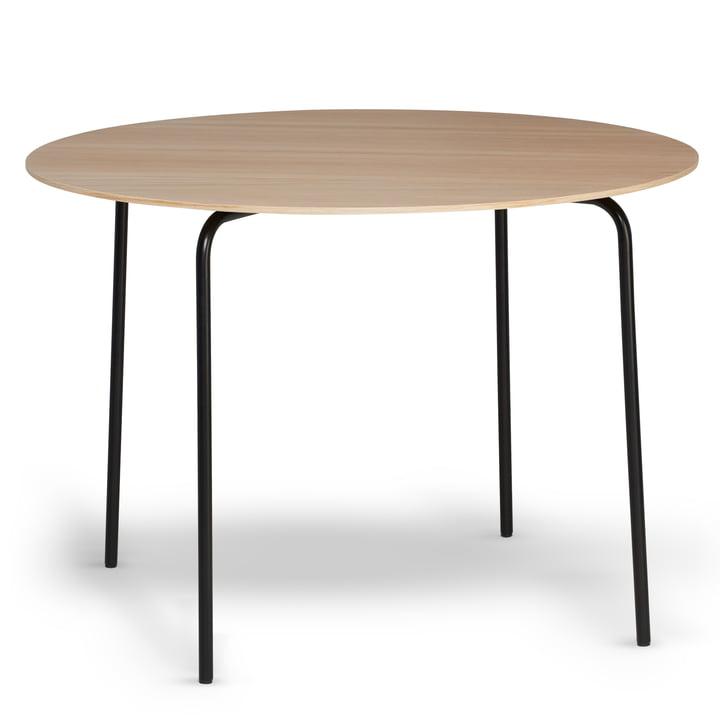 Northern - Table à manger Camp, noir / chêne