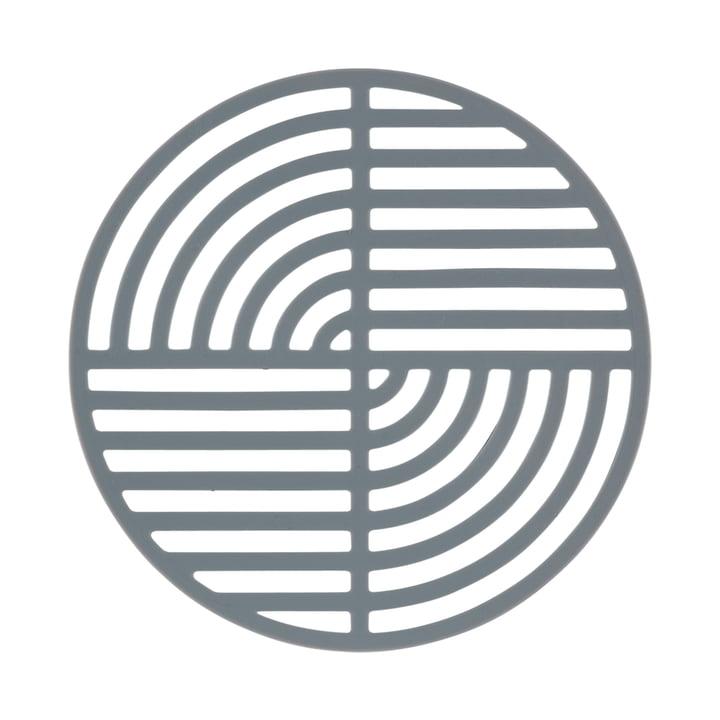 Le dessous-de-plat Circle de Zone Denmark en gris clair