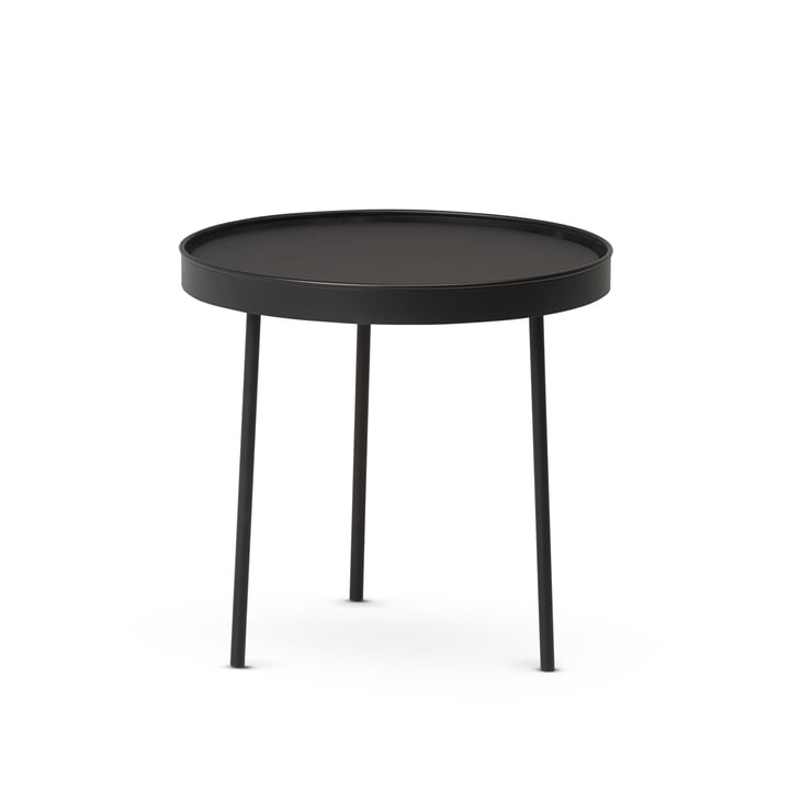 Northern - Table moyenne Stilk Coffee, Ø 45 x H 42 cm, noir
