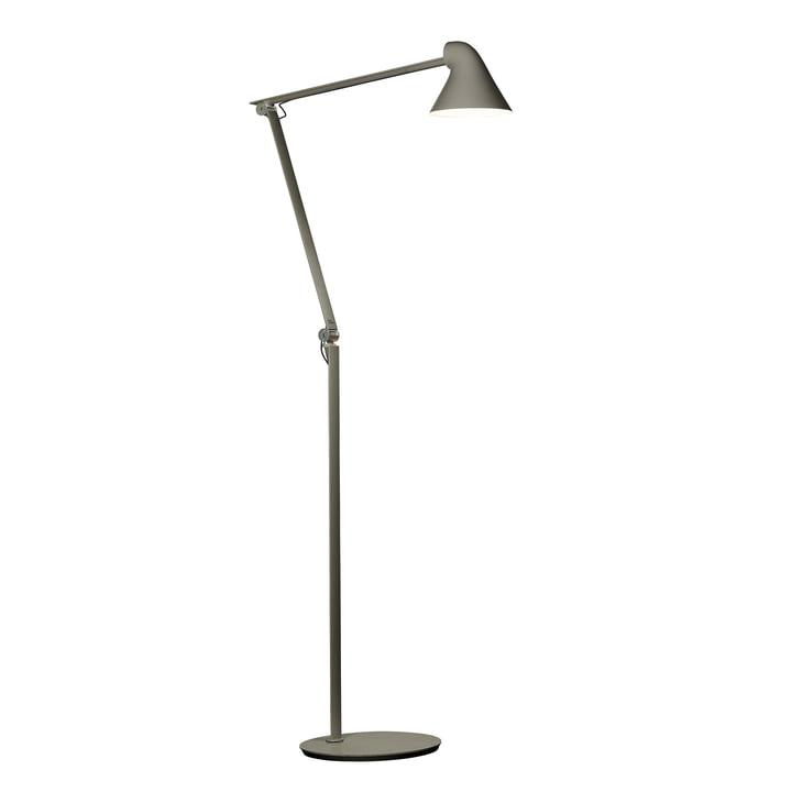 Le Louis Poulsen - Lampadaire à LED NJP en aluminium gris foncé