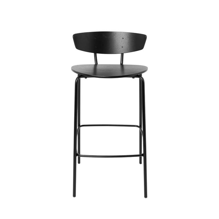 Tabouret de bar Herman H 83,5 cm de ferm Living en noir