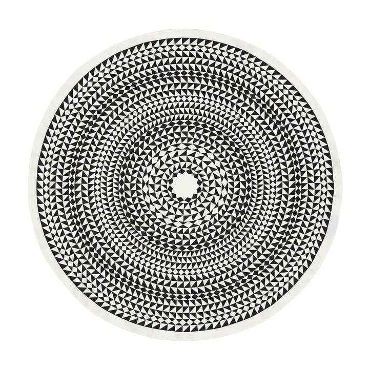 Vitra - Nappe Ø 130 cm, Géométrique / noir