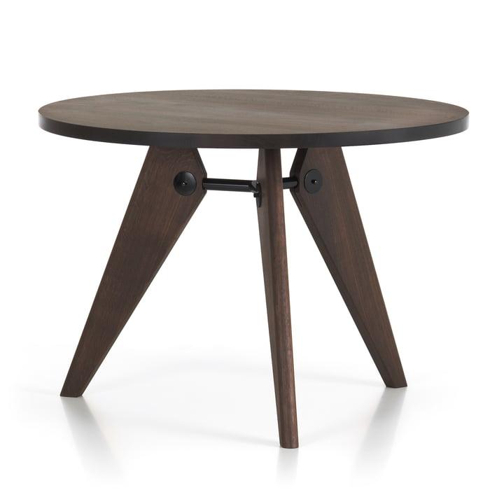 Vitra - Table de repas Guéridon, Ø 105 cm, chêne fumé