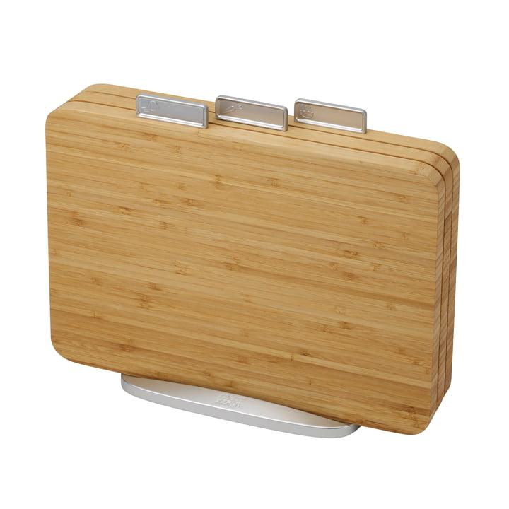 Planches à découper Index Bamboo, lot de 3 par Joseph Joseph