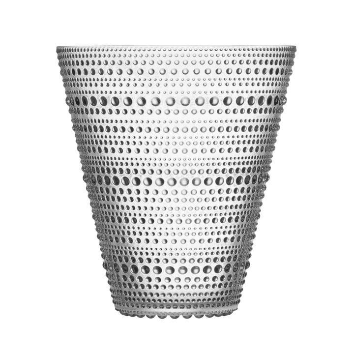 Le vase Kastehelmi d'Iittala 154 mm, clair
