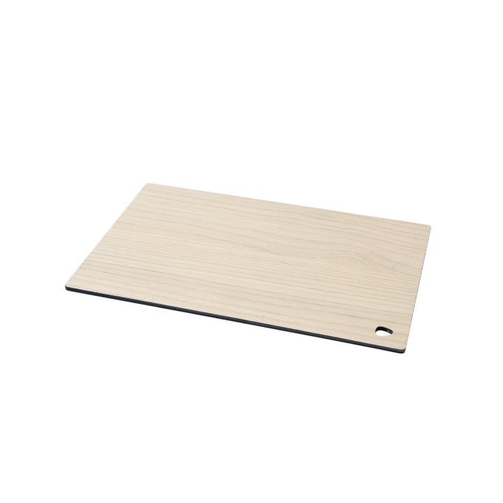Planche à découper Cut&Serve Square S 25 x 16 cm de LindDNA en frêne