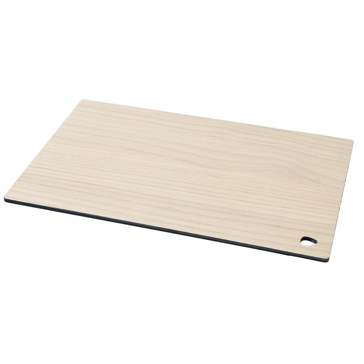 Planche à découper Cut&Serve Square L 29 x 35 cm de LindDNA en frêne