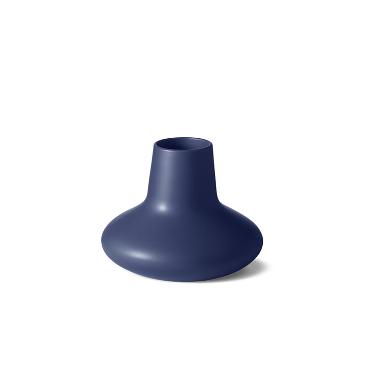 Le petit vase Henning Koppel de Georg Jensen en grès bleu