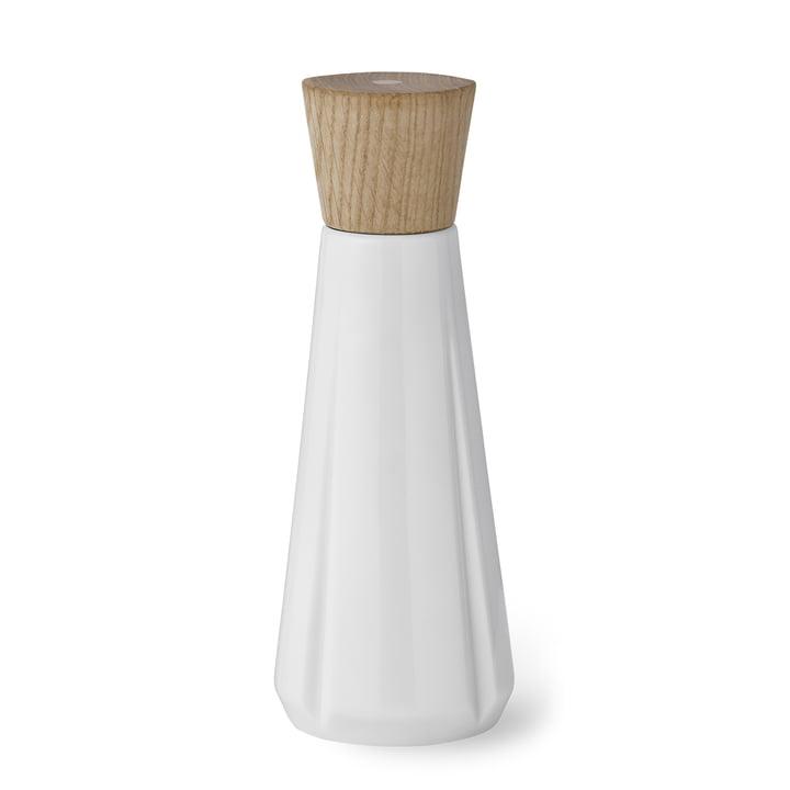 Salière Grand Cru H19cm par Rosendahl en chêne / blanc