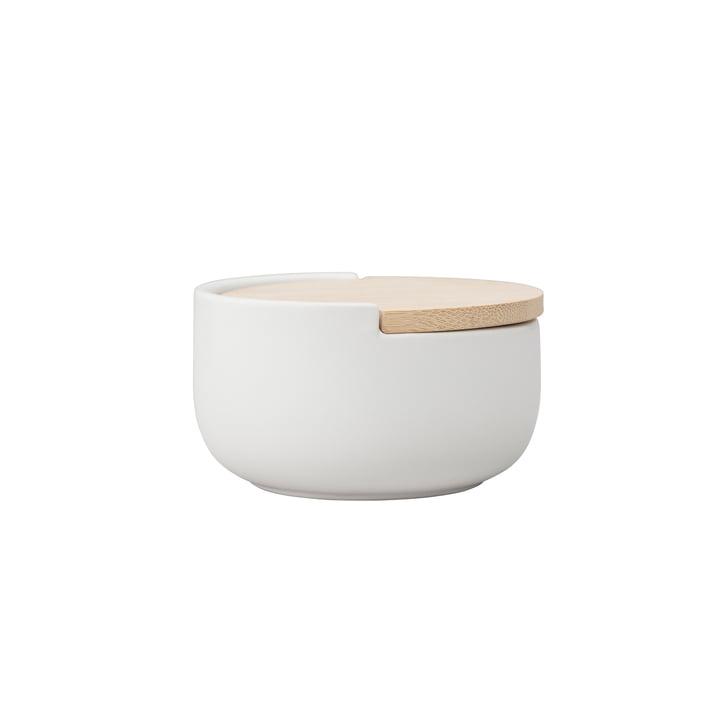 Le pot à sel ou à poivre Loop de Rig-Tig by Stelton, blanc