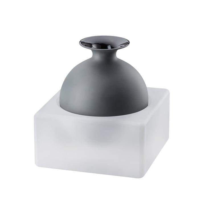 Vase Freddo H 18 cm de Rosenthal en verre / noir
