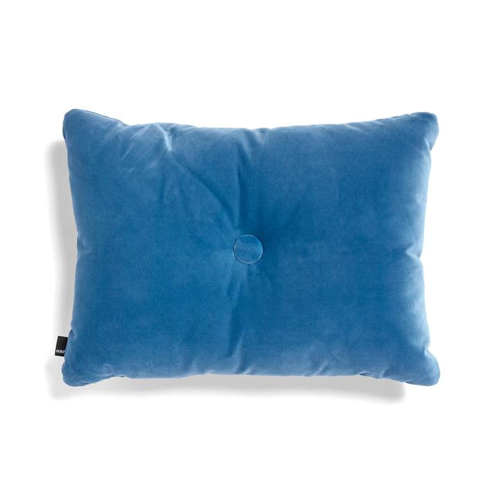 Le coussin Dot Soft de Hay, 45x60cm, bleu