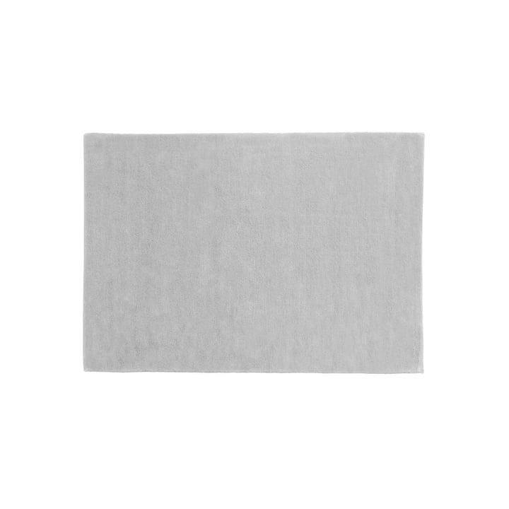 Le tapis Raw 2 de Hay, 140x200cm, gris clair