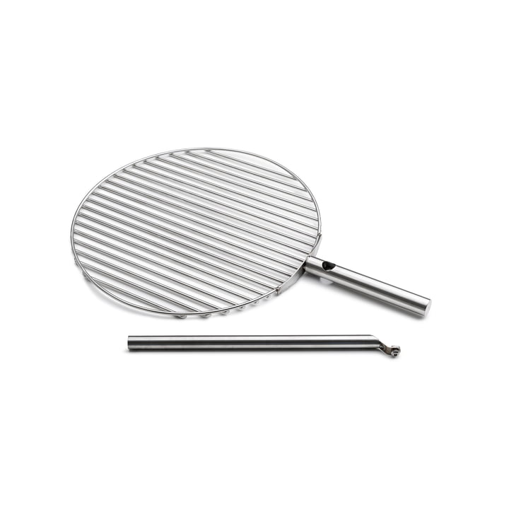 höfats - Grille de barbecue Triple Ø 45 cm, acier inoxydable