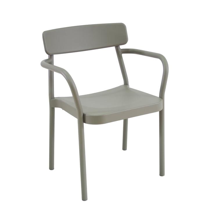 La chaise Grace par Emu, gris-vert (37)