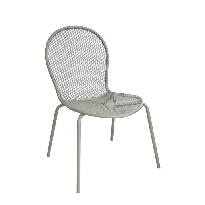 La chaise Ronda par Emu, gris-vert