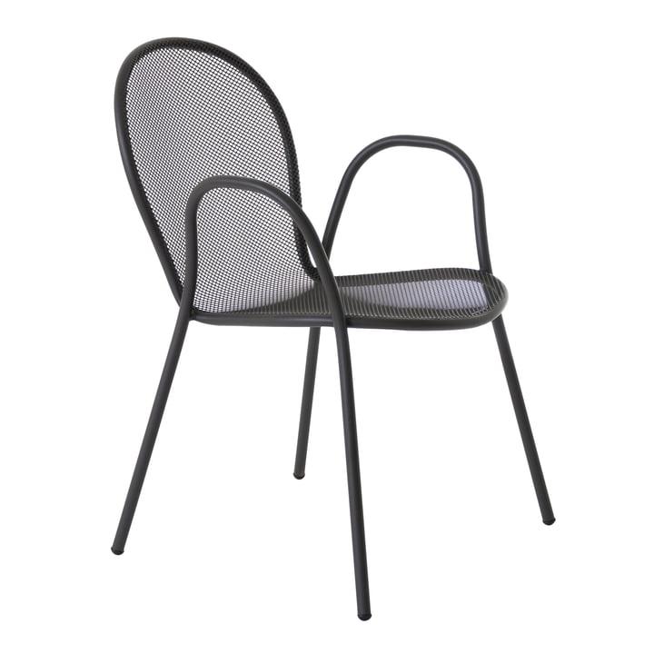 Ronda le fauteuil par Emu en fer antique