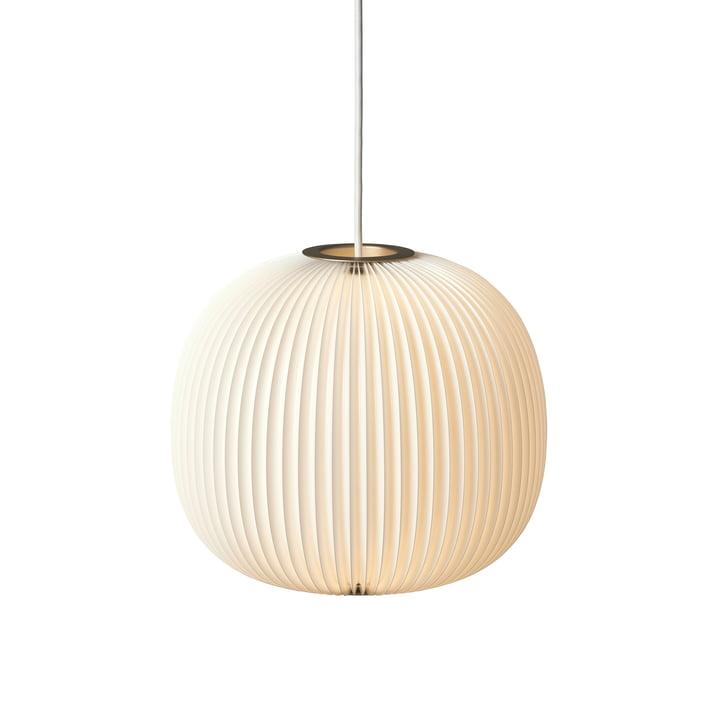 Le Klint - Lamella 3 suspension lumineuse, doré/blanc