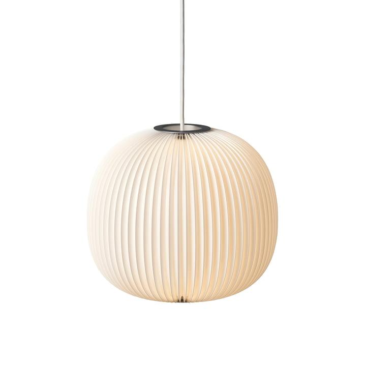 Le Klint - Lamella 3 suspension lumineuse, argenté/blanc