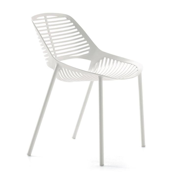 Chaise Niwa par Fast en blanc