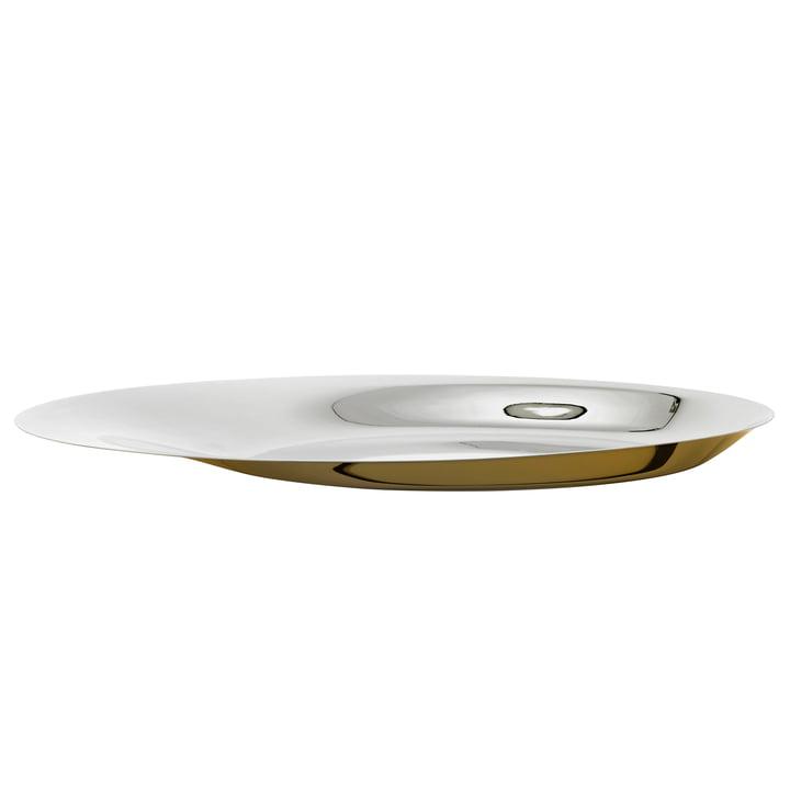Coupe Foster Ø 46 cm de Stelton en acier inoxydable / or