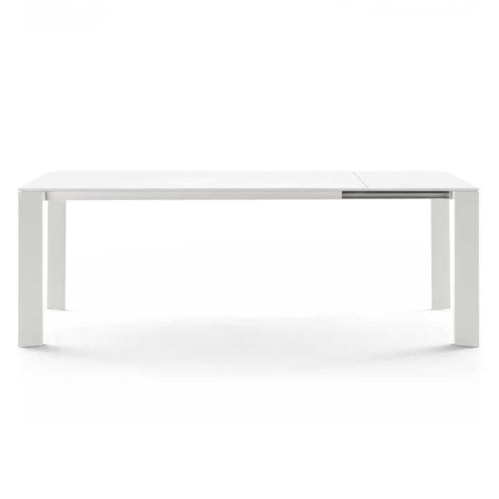 Table extensible Grande Arche par Fast en blanc