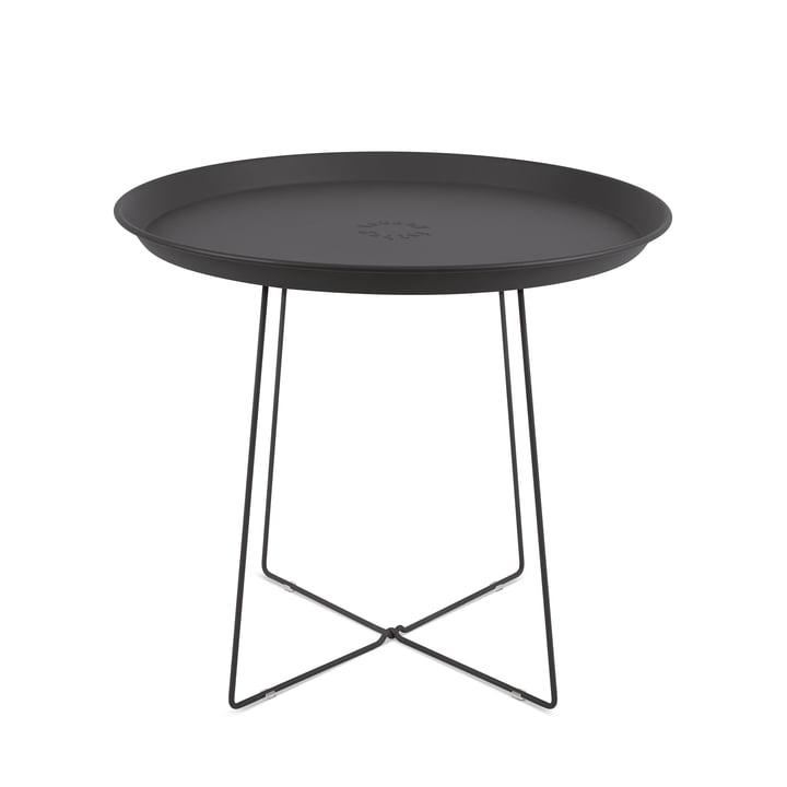 Fatboy - Table d'appoint et plateau Plat-o, gris anthracite
