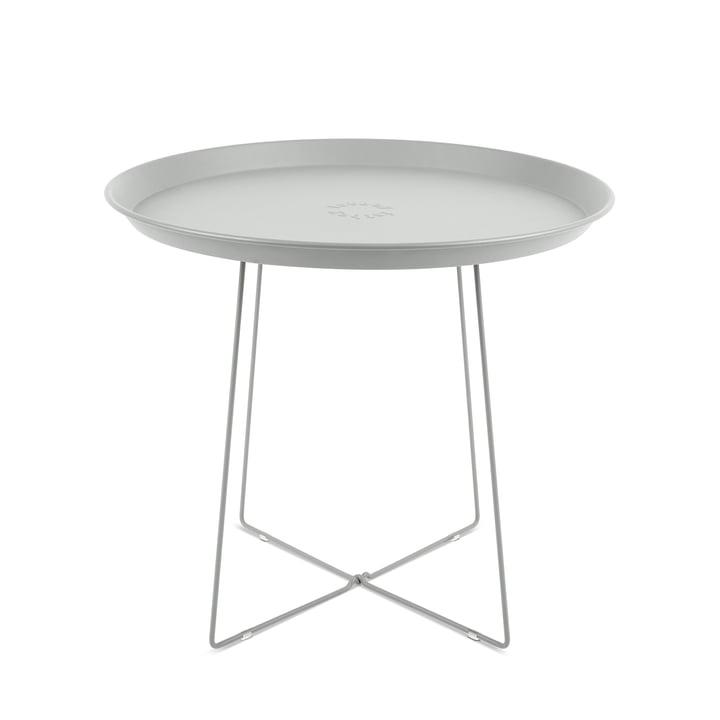 Fatboy - Table d'appoint et plateau Plat-o, gris clair