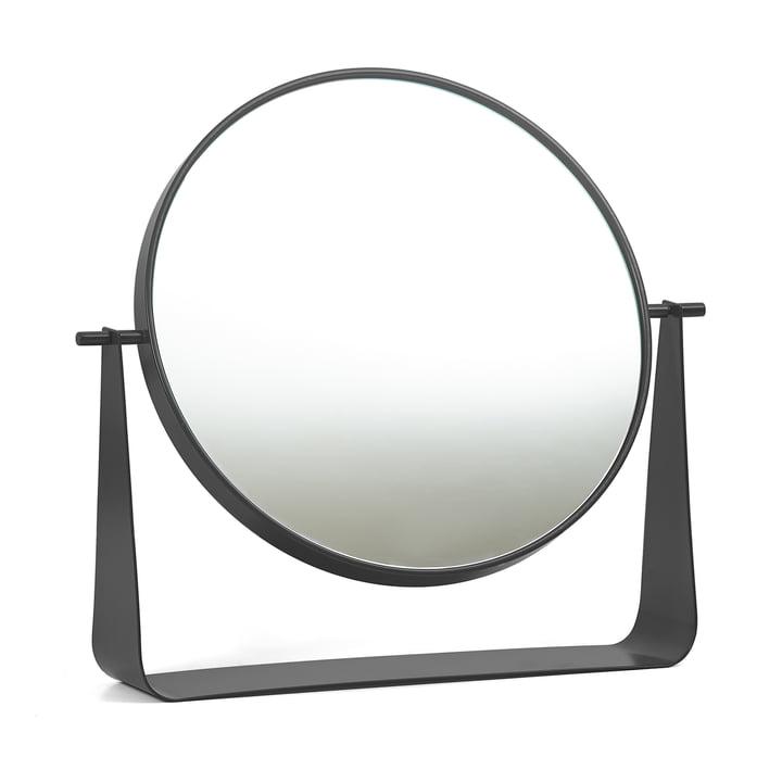 Miroir de table Narcisse de Hartô en gris anthracite