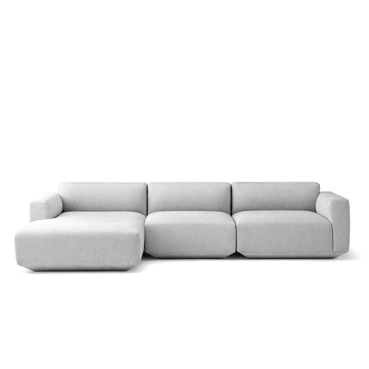 Canapé d'angle Develius configuration E par &Tradition en Kvadrat Mapple 112