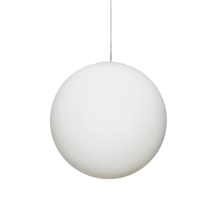 Lampe à suspension Luna Ø 30 cm de Design House Stockholm en blanc