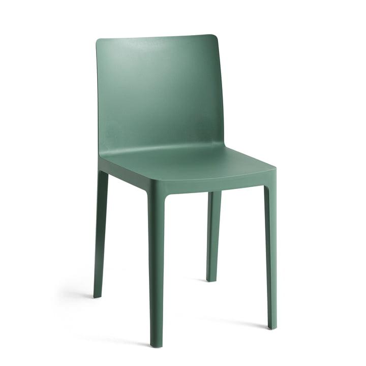 Foin - Chaise Élémentaire, vert fumé