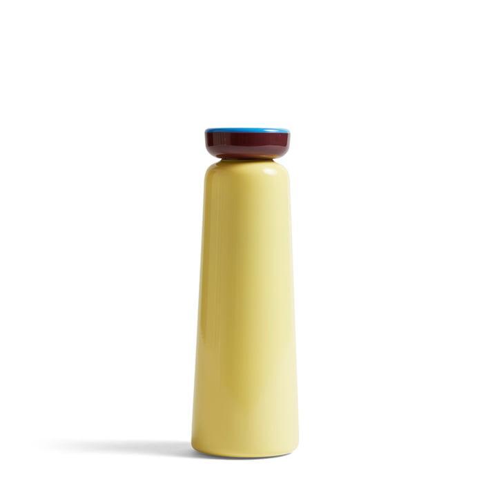 Bouteille isotherme Sowden 0,35 l de Hay en jaune clair