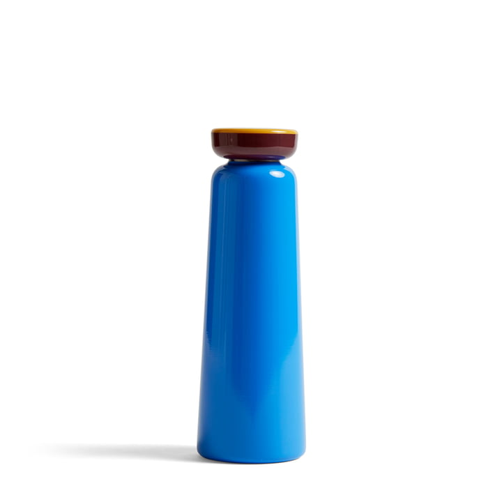Bouteille isotherme Sowden 0,35 l de Hay en bleu