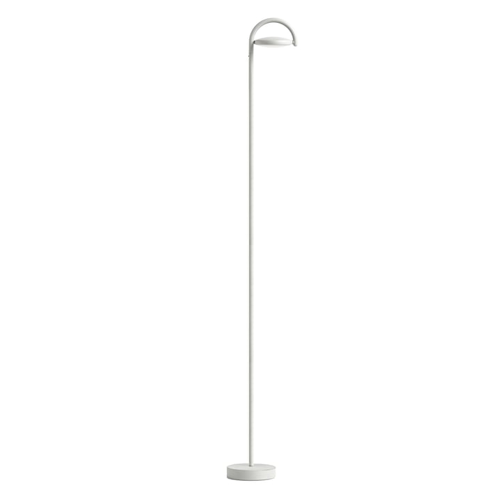 Lampadaire LED Marselis par Hay en gris clair (RAL 7035)