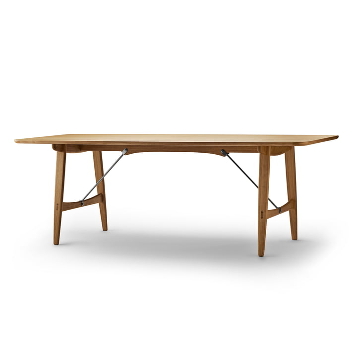 Carl Hansen - BM1160 Table de chasse, 210 x 82 cm, Chêne huilé