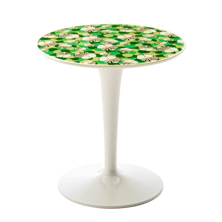 Tip Top table d'apoint 8611 par Kartell en ninfea
