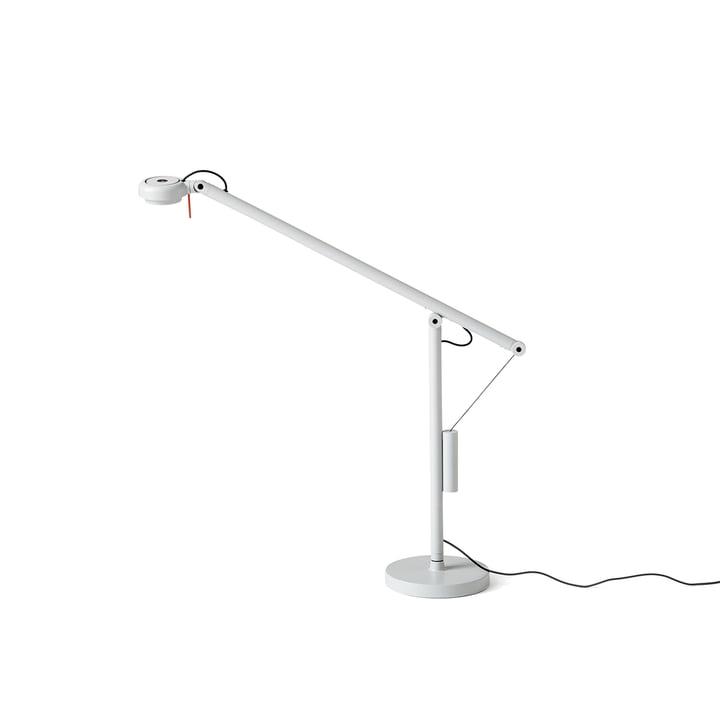 Mini lampe de table LED Fifty-Fifty par Hay en gris clair (RAL 7035)