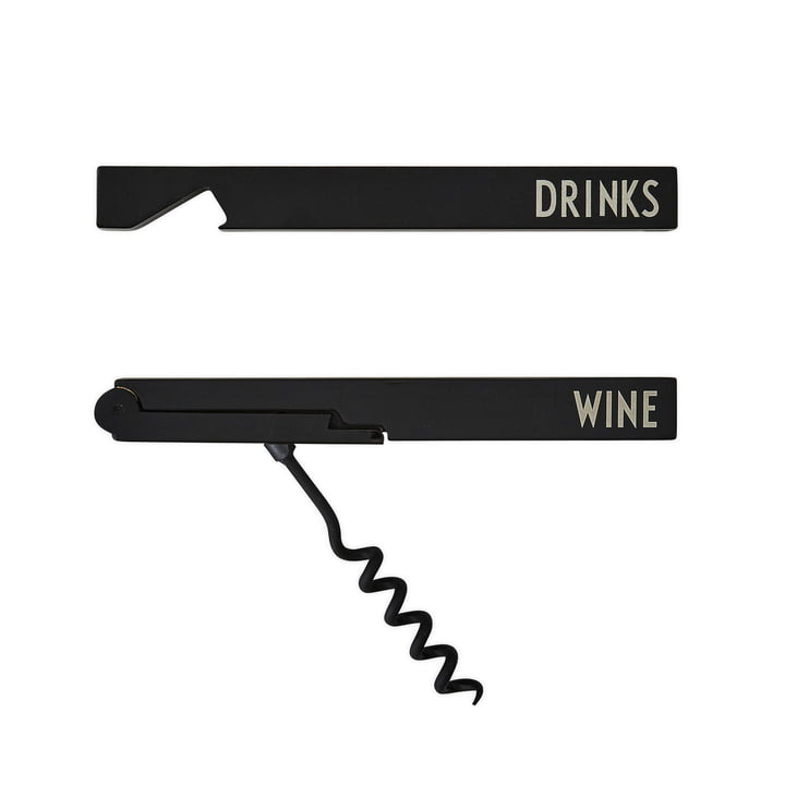 Set cadeau ouvre-bouteilles Bar par Design Letters