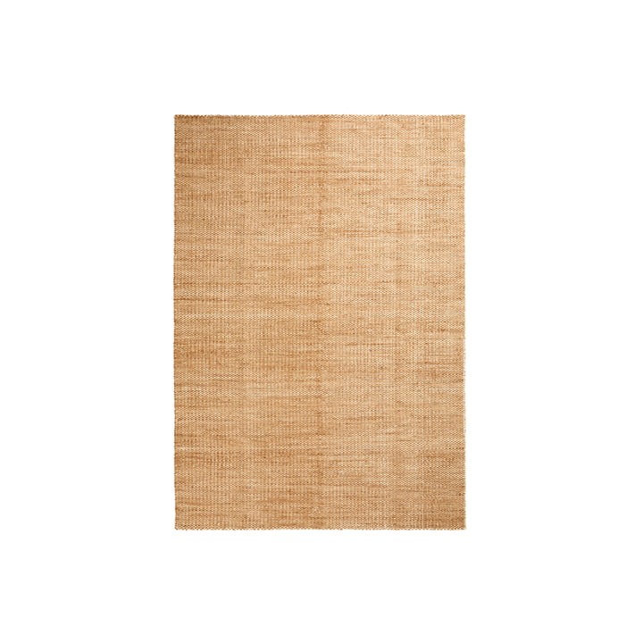 Tapis Moiré Kelim 140 x 200 cm de Hay en jaune