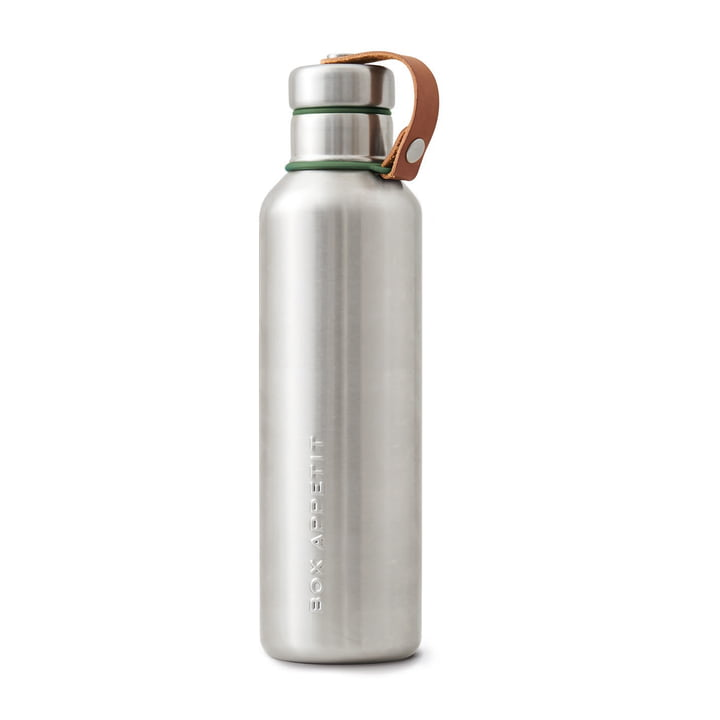 La water Bottle isotherme en acier inoxydable de Black + Blum, 0,75 L, olive