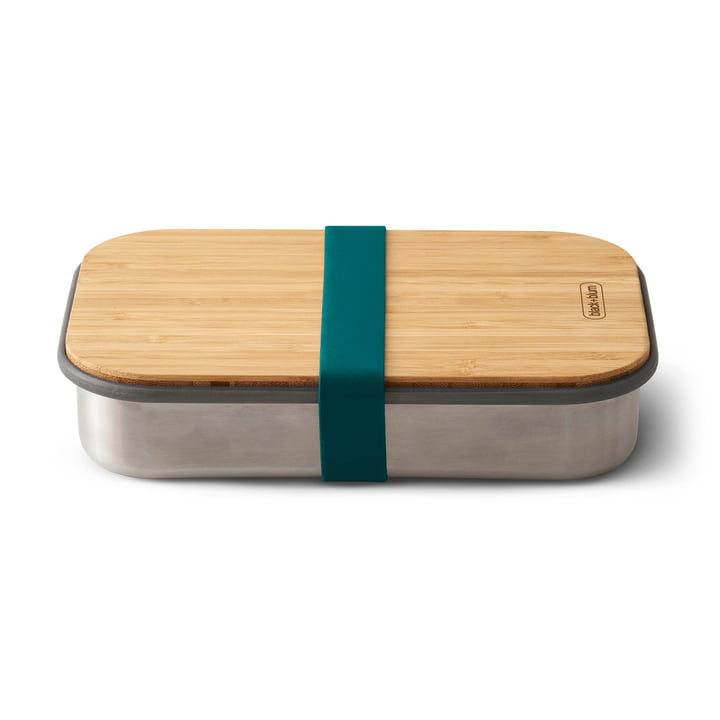 Sandwich Box en acier inoxydable de Black + Blum en bleu océan