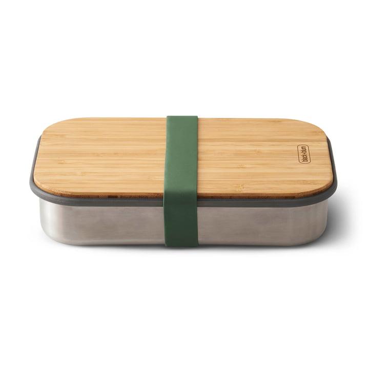 Sandwich Box en acier inoxydable de Black + Blum en olive