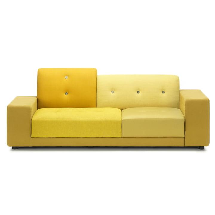 Le Vitra - Canapé Polder Compact en jaune doré